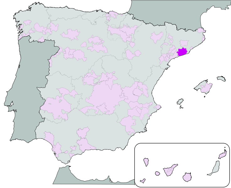 DO Penedes location